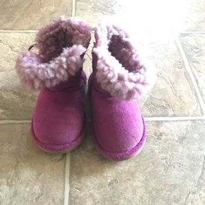UGG Bailey button infants boots